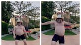 Jack Black's shirtless TikTok debut is exactly what we need right now