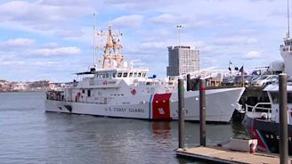 Coast Guard shows off state-of-the-art fast response cutter