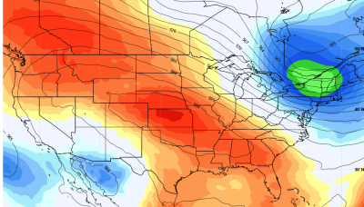 """Heat dome dominates U.S. weather as a """"derecho"""" threat looms in Midwest"""
