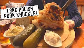 POLISH FOOD in Krakow, Poland | Krakow's first ever fast food + traditional Polish MILK BAR