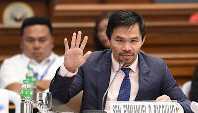 8度金腰帶得主! 拳王巴喬宣布角逐菲律賓總統
