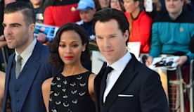 Zoe Saldana and Benedict Cumberbatch reading children's stories for charity podcast
