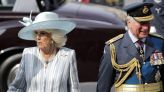 Prince Charles & Camilla Duchess of Cornwall Attend Battle of Britain Service