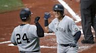 Yankees bats break out, salvage series finale vs Rays