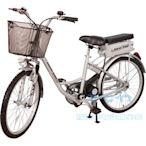 勝一EV24S電動輔助自行車-鋰電版 電動腳踏車