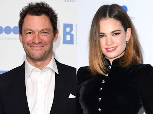 Why Lily James and Dominic West Might Be Fined for Their PDA-Filled Outing in Rome