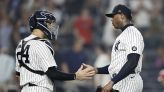 Chapman gets 1st save in over a month as Yanks beat Phillies