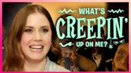 Amy Adams & Kelly Guess What's Creepin' Up Behind Them
