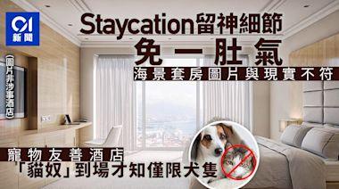 消委會│Staycation一肚氣 近3千元全海景房 網站圖片與現實不符