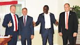Gubernatorial candidates visit area