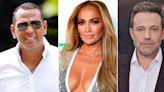 ¿Venganza? Alex Rodríguez, ex de J.Lo, fue captado de fiesta con una ex novia de Ben Affleck