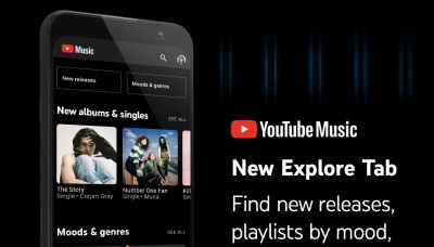YouTube Music's Explore tab is now out for Android and iOS users