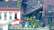 Workers trapped by construction collapse in New York City