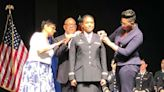 How this soldier went from singing on a cruise line to following in her father's footsteps