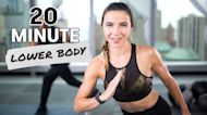 20-Minute HIIT Lower-Body Bodyweight Workout With Tabata Finisher