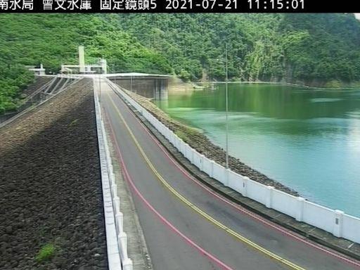 颱風環流影響連日有雨!台南4水庫總蓄水量逾4.8億噸創新高
