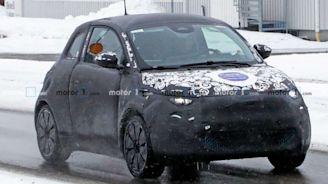 New Fiat 500e Spied Preparing For Hardtop Version