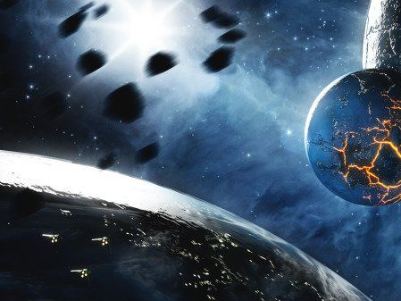 古代認識鐵始於鐵隕石 稱天空落下的「天鐵」(圖) - - 探秘尋真