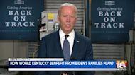 How would President Biden's 'American Families Plan' impact Kentucky families?