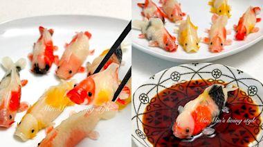 超擬真「錦鯉蝦餃」每隻花色不同!做法公開網驚嘆:藝術品級別 - 食譜自由配 - 自由電子報