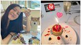 張㬢雯低調慶祝30歲生日 IG限時動態驚現男友照片