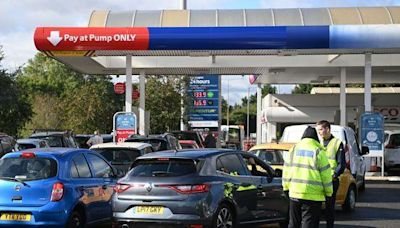 Panic Buying in U.K. Creates Shortages at Gas Stations