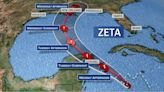 Tropical Storm Zeta expected to strengthen into hurricane