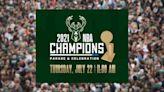 Team pride: Parade celebrates NBA Champions Milwaukee Bucks, July 22