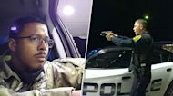'I'm honestly afraid to get out': Police pull guns on Afro-Latino Army officer in traffic stop