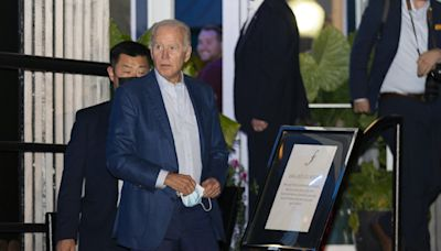 Video: Biden walking through ritzy DC restaurant maskless, violating citywide mandate