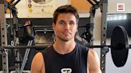Robbie Amell's Home Workout | Train Like