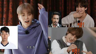 BTS防彈少年團玩遊戲認唔出孫興慜 一次過爆笑得罪11位名人