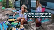 Utility Basket for Portable Foldable Camping Table ( Small)