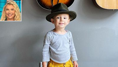 Amanda Kloots Shares Sweet Photo of Son Elvis Wearing Late Dad Nick Cordero's Hat by His Guitars