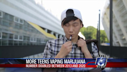 Study: Students who vape marijuana has doubled in 8 years
