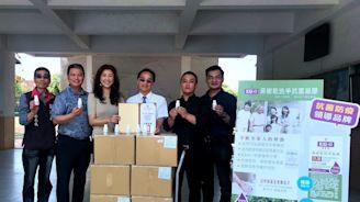 「神力女超人」許淑華 偕同在地科技公司助竹高校園抗疫