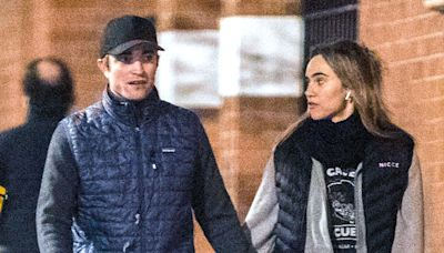 Robert Pattinson and Suki Waterhouse Hold Hands on a Romantic Stroll in London