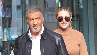 Sylvester Stallone's 3 daughters hit the red carpet together to celebrate Sistine's role in 'Midnight in the Switchgrass'