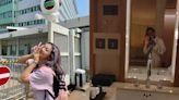 何雁詩離巢TVB歎世界 孖老公鄭俊弘住靚酒店︰廁所大過屋企間房