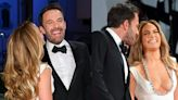 15 photos of Jennifer Lopez and Ben Affleck smiling and holding hands on their first red-carpet appearance in 18 years