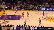 Rajon Rondo with an assist vs the Phoenix Suns