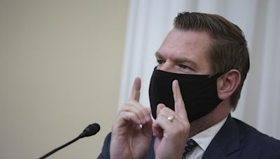 Rep. Eric Swalwell says Cruz and Gaetz are like WWE wrestlers and behind closed doors Cruz told him he was doing a great job as an impeachment manager