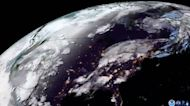 Satellite Shows Wildfire Smoke Moving Across North America