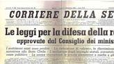 Cuando en la Italia fascista se aprobaron unas deleznables leyes raciales y antisemitas