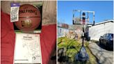 'Pure kindness': FedEx driver surprises boy with new basketball hoop in random act of kindness