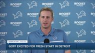 Jared Goff does not think Lions are rebuilding, Brad Holmes sees Goff as his starting QB