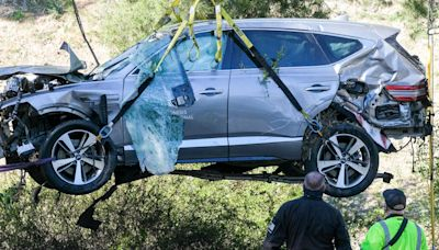 Here's the reason Tiger Woods crashed his SUV