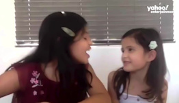 Kid interviewers ask Vanessa Hudgens to buy them a pony