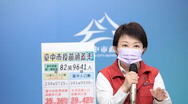 長者不會上唐鳳平台 盧秀燕:爭取第二劑快打站接種