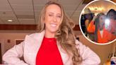 Hot Mama! Brittany Matthews Rocks Sexy Orange Blazer During Night Out